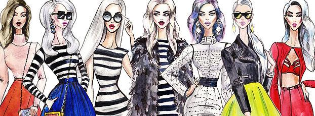 several fashionistas