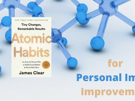 5 ATOMIC HABITS THAT WILL BOOST YOUR PERSONAL IMAGE