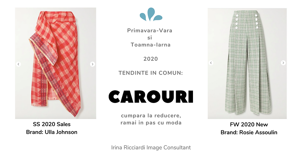 trend moda 2020 carouri