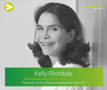 Interview with Kelly Richdale (Innosuisse Innovation Council Member)