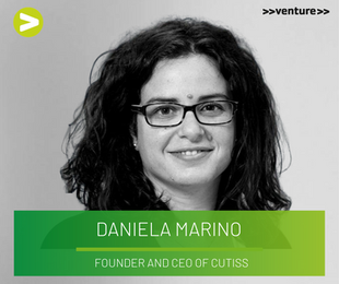 NEW HOPE FOR BURN VICTIMS - Interview with 2015 >>venture>> winner Dr. Daniela Marino (CEO CUTISS)