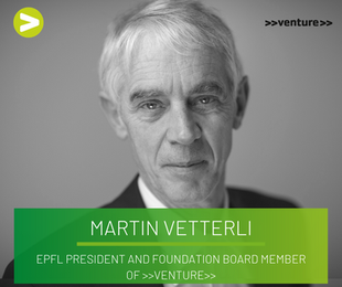 """""""IT'S ABOUT TIME"""" - Interview with Prof. Dr. Martin Vetterli (President EPFL)"""