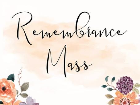 Remembrance Mass