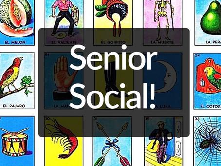 Senior Social - Loteria!