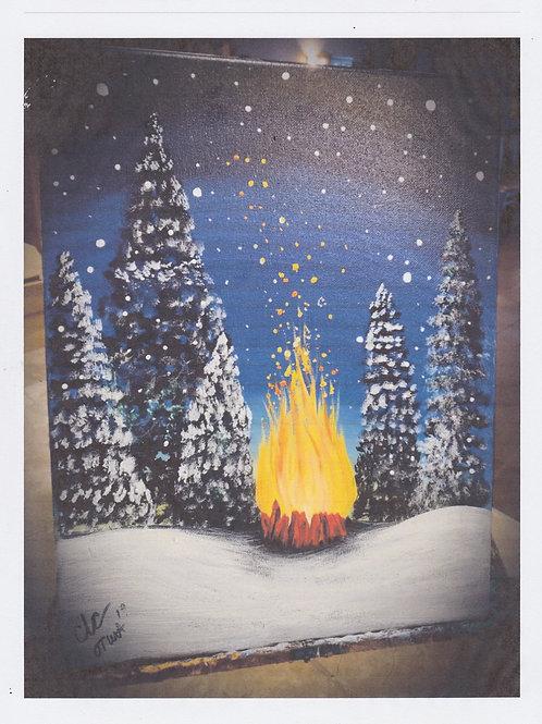 December 17th Paint Class