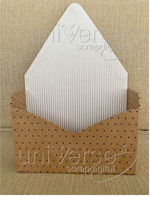 Box envelope Cartonagem - Uso Comercial