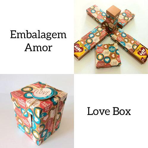 Caixa Paçoca Amor