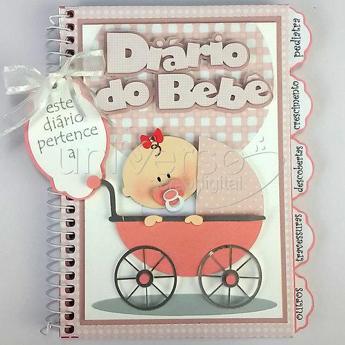 Diário do Bebê Menina - Uso Comercial