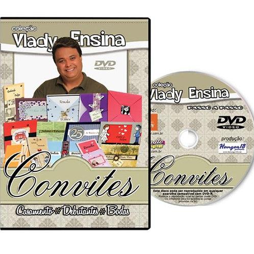 Convites p/ Casamento * Debutantes * Bodas – Col. Vlady Ensina