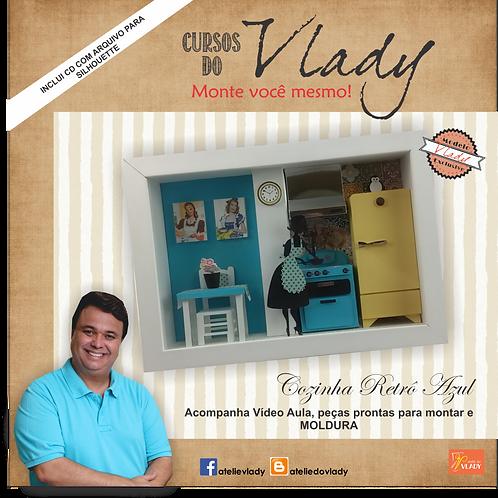 Curso do Vlady – Faça Você Mesmo – Cozinha Retrô Azul