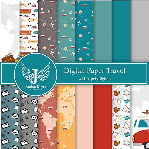 Kit Digital Paper Travel