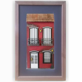 Quadro Decorativo Casarão Colonial 8