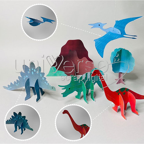 Coleção Dinossauros - Uso Comercial