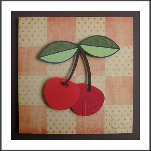 Quadro Decorativo Fruta Cereja