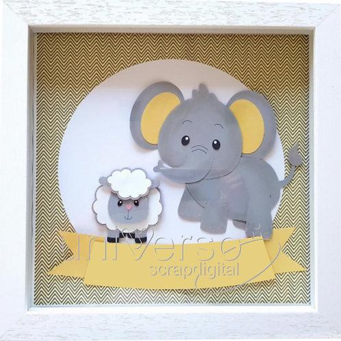 Porta Maternidade Elefante - Uso Comercial
