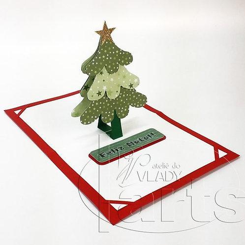 Cartão Árvore de Natal