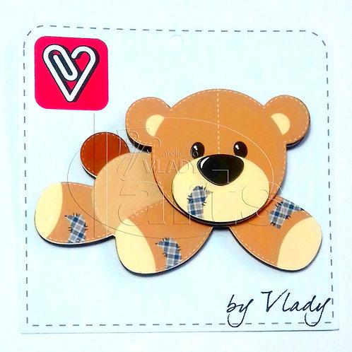 Urso - Animais Patchwork