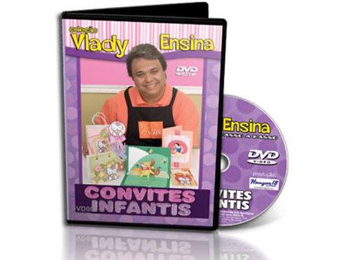 Convites Infantis – Col. Vlady Ensina