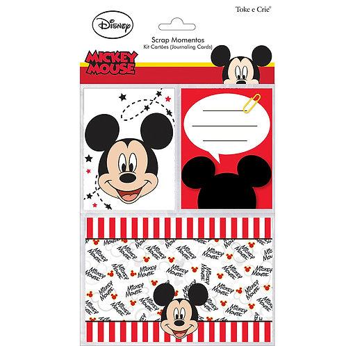 Kit Cartões Scrap Momentos - Mickey