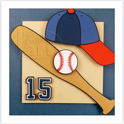 Quadro Decoração Baseball