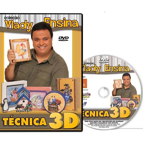 Técnica 3D - Col. Vlady Ensina