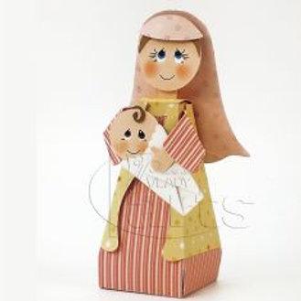 Nossa Senhora e Menino Jesus - Presépio