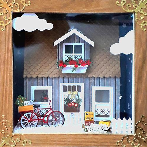 Arquivo da Aula Maquete de Natal com Bicicleta