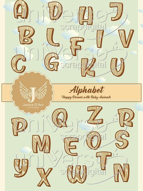 Alphabet – Happy Dreams With Baby Animals