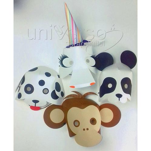 Máscaras de Carnaval - Uso Comercial