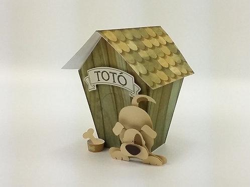 Casa Embalagem Cachorro