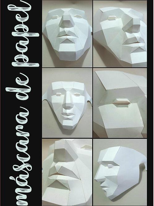 Máscara de Papel 3D