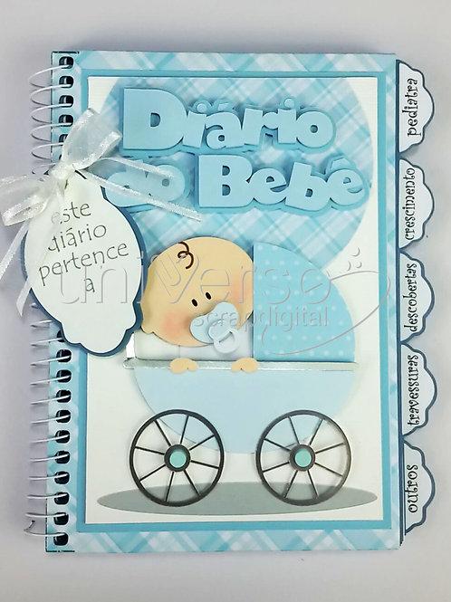 Diário do Bebê Menino - Uso Comercial