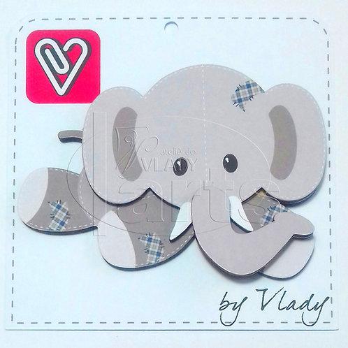 Elefante - Animais Patchwork