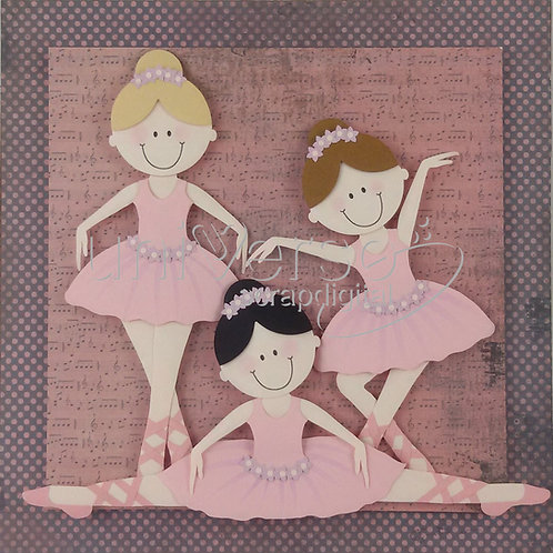 Bailarinas - Uso  Comercial
