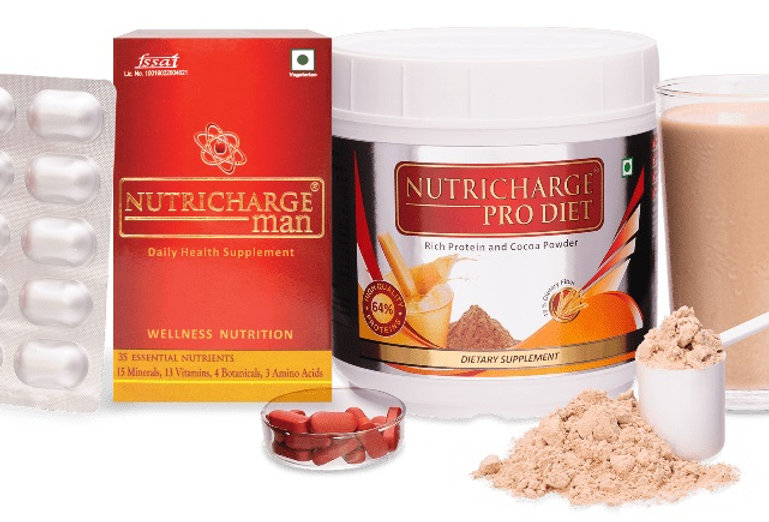 Nutricharge Man Combo (Nutricharge Man + Nutricharge ProDiet)
