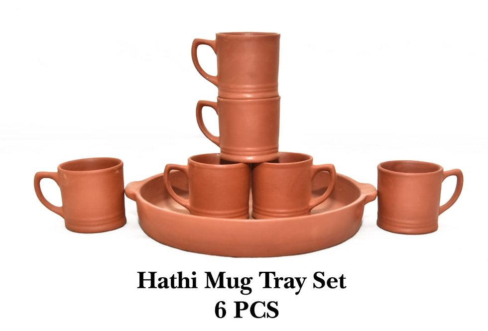 Hathi Mug Tray Set