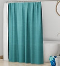 aqua-green-solid-polyester-shower-curtai
