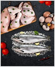 MEAT, FISH & POULTRY