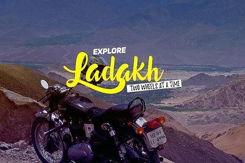 Ladakh bike trip Manali