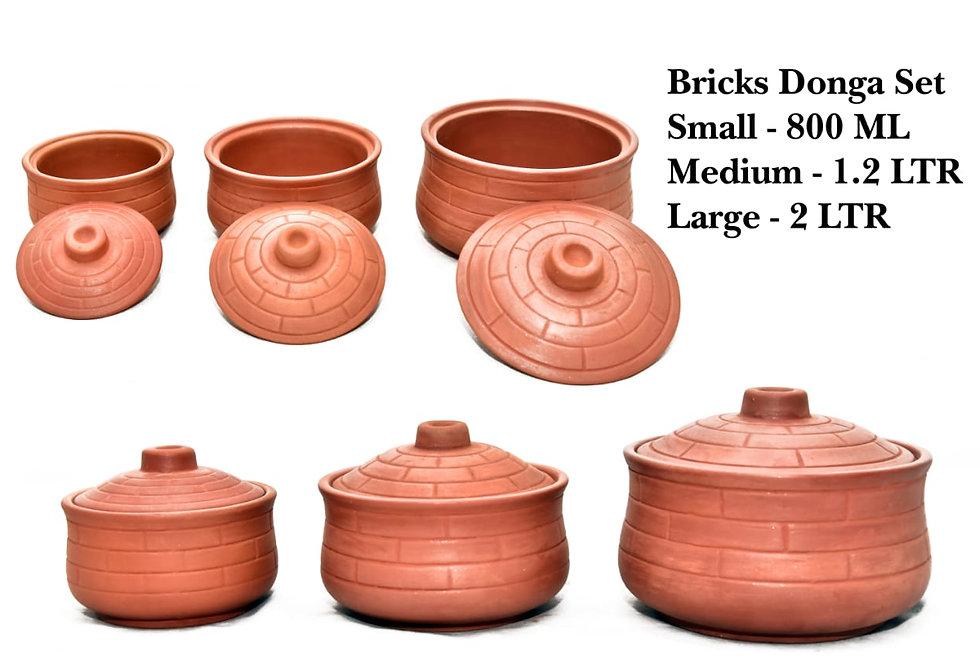 Clay Bowl Set