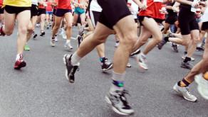 Our 'Magnificent Seven' Team LIHH run Leeds Half Marathon to fundraise for 100 Christmas Craic Packs
