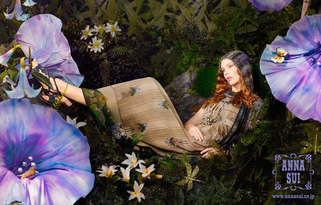ANNA SUI 2014 SPRING 「講談社読者が選ぶ広告賞入賞」