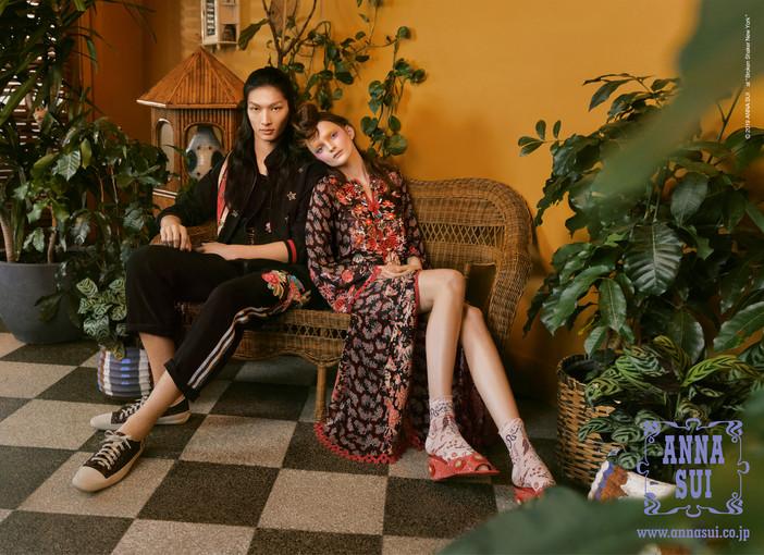 ANNA SUI SPRING Fashion Campaign