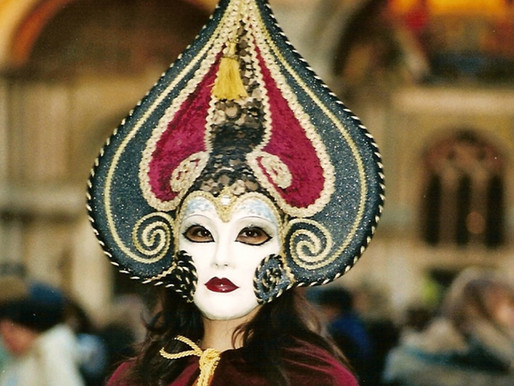 It is Carnival Time and Venice Awaits….
