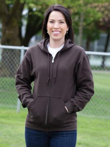 GILDAN® HEAVY BLEND™ FULL ZIP HOODED SWEATSHIRT.
