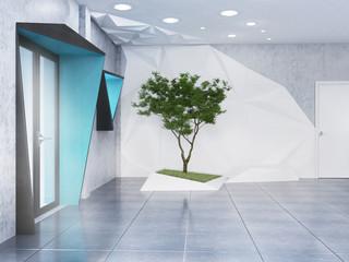 офис, минимализм, футуризм, современный