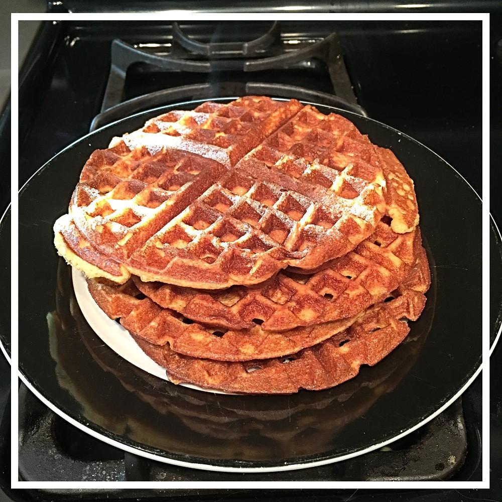 Paleo Almond Flour Waffles