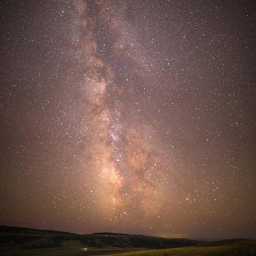 Casper Mountain Milky Way