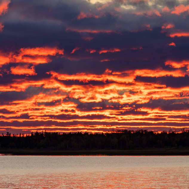 Blazing St. Ignace Sunset.jpg