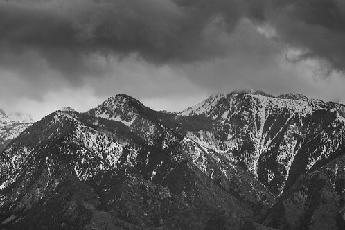 Snow Storm over the Wasatch